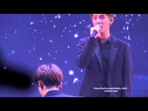 [FANCAM]140817 Samsung Galaxy Music fastival in nanjing MOONLIGHT LUHAN FOCUS with SEHUN