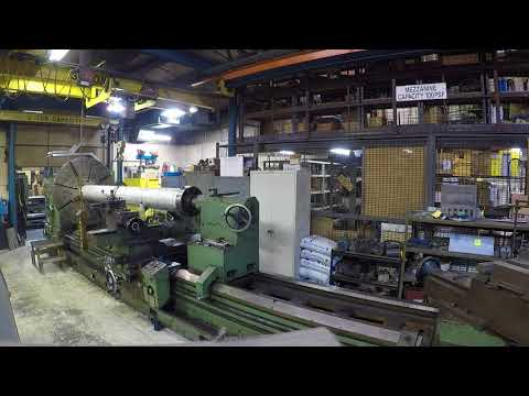 Summit lathe - stainless take up roller time lapse pt.1