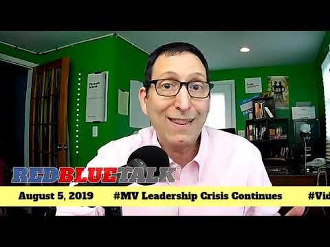 RedBlueTalk Livestream August 8, 2019 / Mt Vernon Mayoral Mess And More