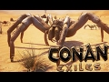 Conan Exiles - FIRST LOOK, STEALING CREATURE EGGS & FIGHTING TRIBES - #1 (Conan Exiles Gameplay)