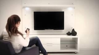 Manhattan Comfort: Belvedere 1.0 TV Stand + Park 1.8 Panel