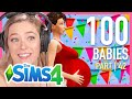 Single Girl Has 50 Babies In The Sims 4 | Part 42