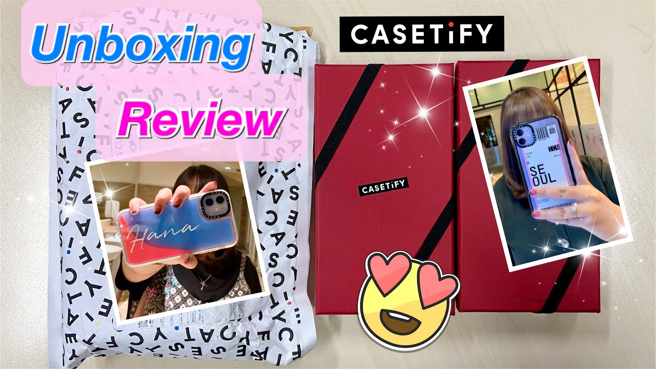 Unboxing Casetify Neon Sand Pangram Case For Iphone 11 Indonesia Try On Deep Review Youtube