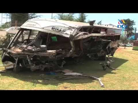 Nairobi bound bus kills one, injures 31 in road accident along Kericho - Kisumu highway