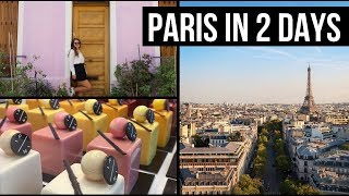 TWO PERFECT DAYS IN PARIS | 17+ Landmarks | A weekend in Paris (Summer time)
