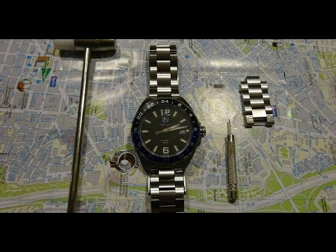 How To Remove Links From A Tag Heuer Watch
