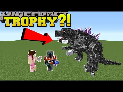 Minecraft: MASSIVE TROPHIES!! (TROPHIES BIGGER THAN YOU!) Mod Showcase