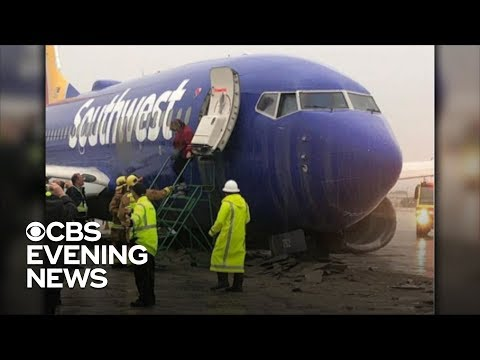 The Woody Show - Plane Skids off Runway (and It Could Have Been Greg's)