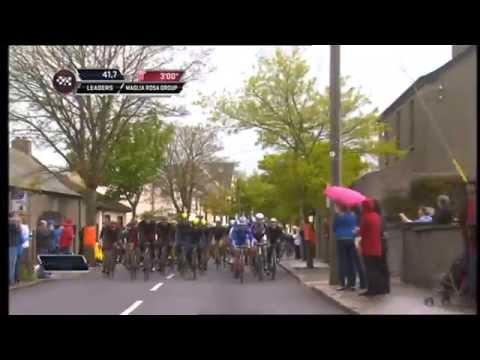 Giro D'italia 2014 Cycle Race Armagh To Lusk Co Dublin Part 1