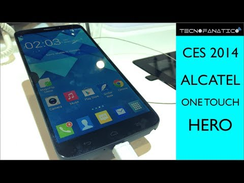 CES 2014 Alcatel One Touch Hero - Primeras impresiones