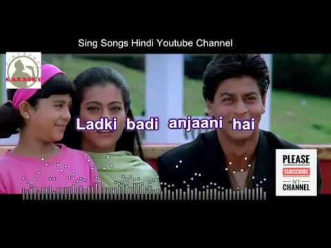 LADKI BADI ANJANI KARAOKE SONG With Lyrics For FEMALE Singers