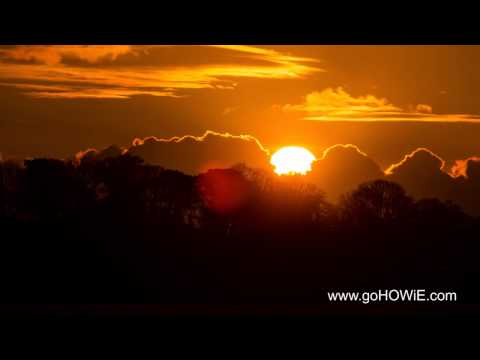 Sunset from Caernarfon