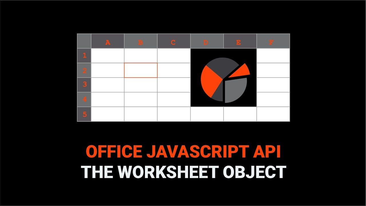 How To Work With a Worksheet in the Office JavaScript API