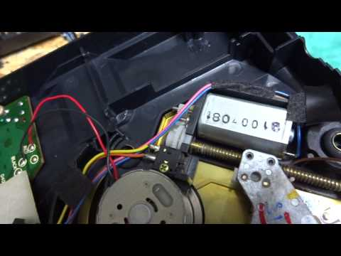 Turbo Grafix CD Capacitor Replacement, Stuck Laser,  Laser Wont Read, Trouble Shooting