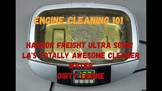 Engine Cleaning 101