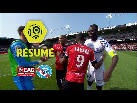 EA Guingamp - RC Strasbourg Alsace (2-0)  - Résumé - (EAG - RCSA) / 2017-18