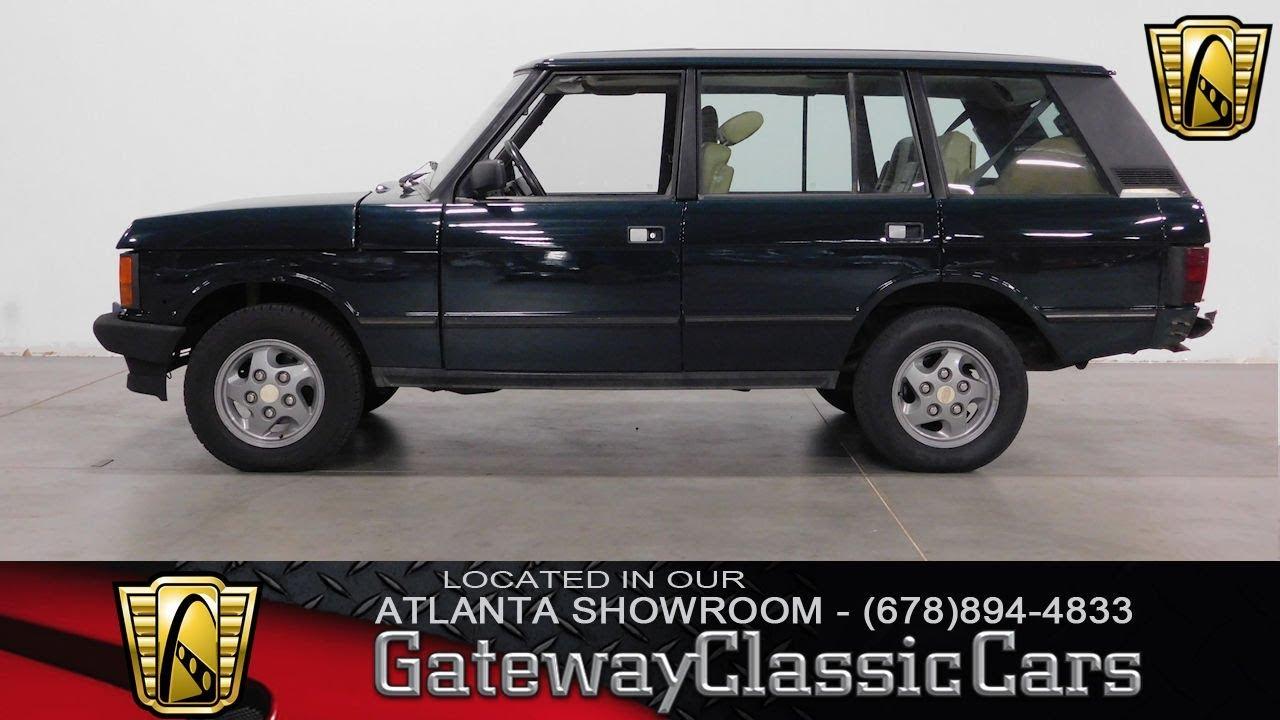 Range Rover Atlanta >> 1994 Land Rover Range Rover Long Wheelbase Gateway Classic Cars Of Atlanta 622