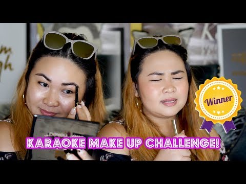 Karaoke Make up Challenge - the best!