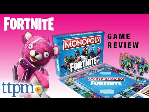 Monopoly Fortnite From Hasbro