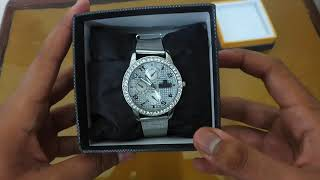 Diamond watch for men | Available in daraz.pk, Ali express in Rs800