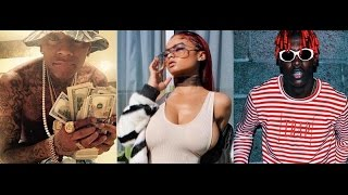 soulja beefs with lil yachty over ig model india love i ll slap the shit out you video