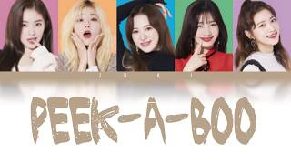 Red Velvet - Peek-A-Boo(Japanese Version)