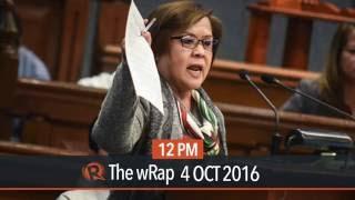 Senators gang up on De Lima over Matobato kidnap case