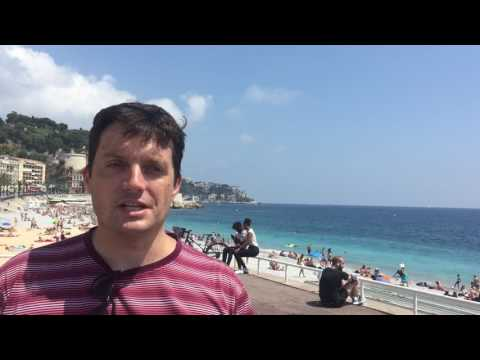 Nice is a magnificent city for tourists.