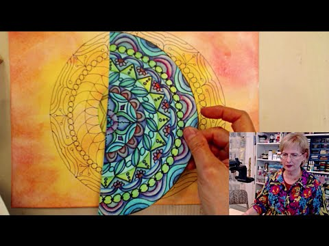Ustream: What To Do With All These Mandalas - HowToGetCreative.com with Barb Owen