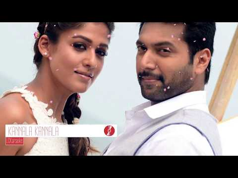 KANNALA KANNALA karaoke Version _ Thani Oruvan_ Thaniya oruvan vachu mokkah podura channel