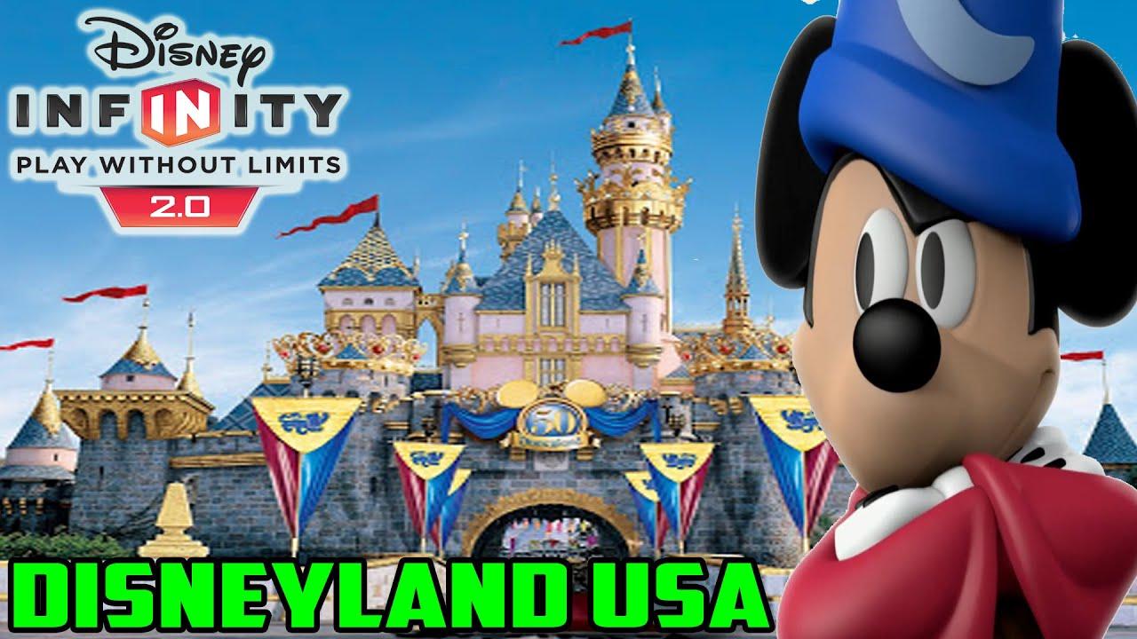 Disney Infinity  Toy Box Disneyland USA YouTube - Disneyland usa location map
