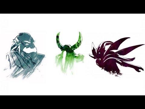 видео: zeus + nature`s prophet + spectre. Весёлая связка героев dota 2.