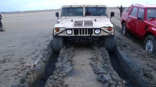 Hummer H1 vs Lambo LM002 (Test Autobeagle & Rolling Wheels)