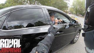 Delusional man accuses me of hitting his car