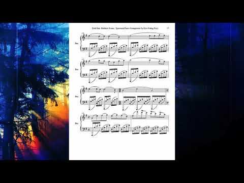 [Sheet Music] Zedd feat. Matthew Koma - Spectrum (Piano Sonata Form)