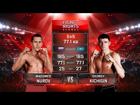 Магомед Нуров vs. Георгий Кичигин / Magomed Nurov vs. Georgy Kichigin