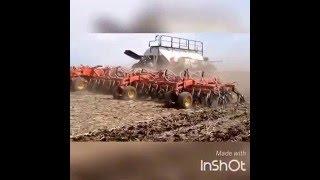 Seeding in Saskatchewan with Case IH Steiger 600 4wd tractor
