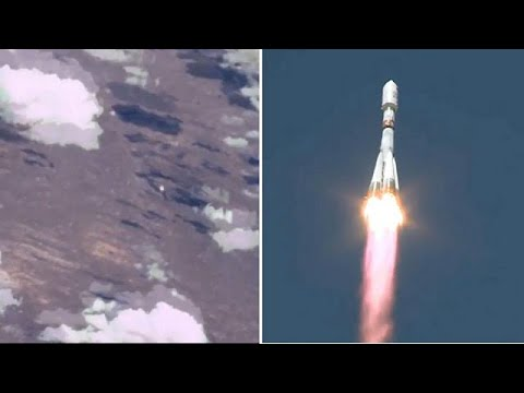 Thumbnail: Watch: Rocket's launch captured on video from space