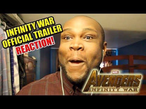 Avengers: Infinity War Official Trailer 1 REACTION VIDEO | November 29, 2017