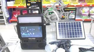 Портативная солн станция TV FM GDLite GD 8086