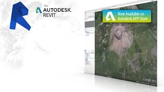Ge-Terrain for Revit: Add textured material to topographic surface