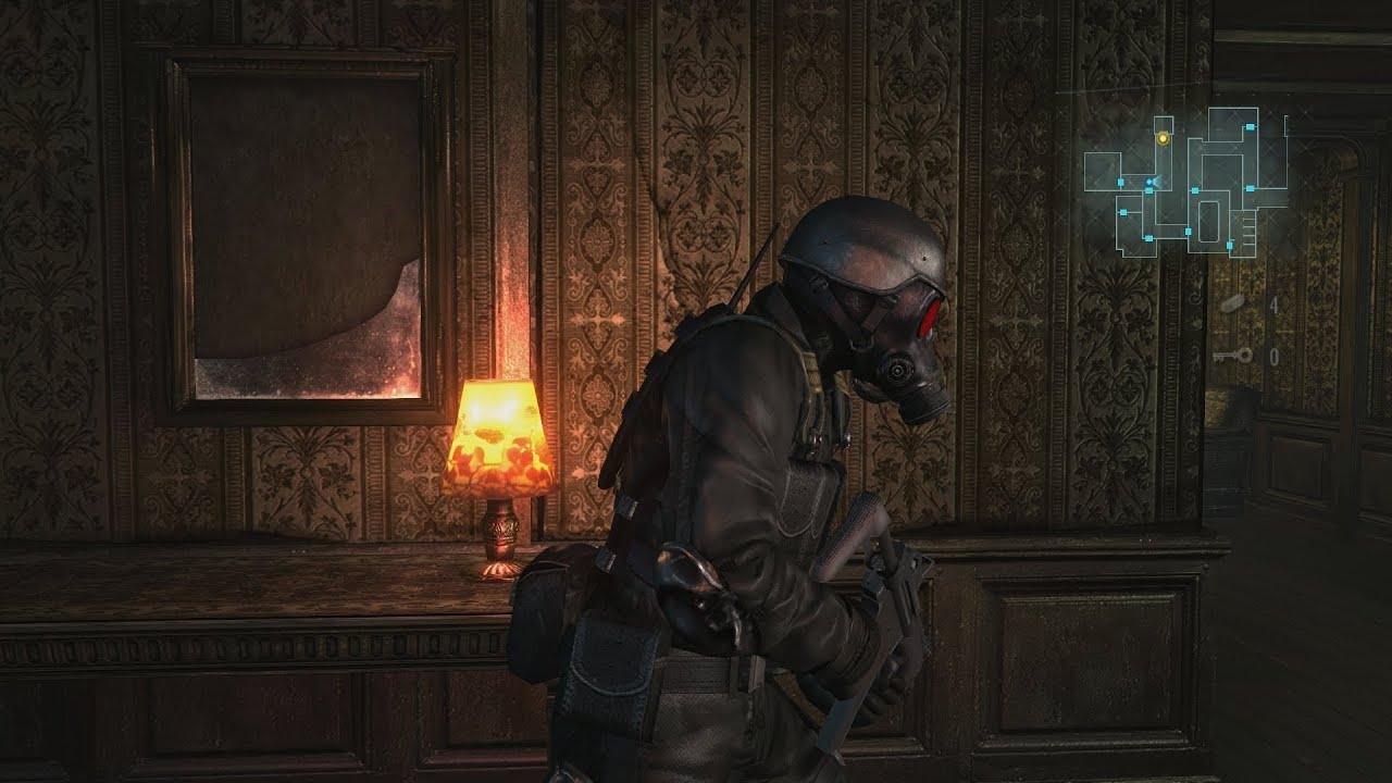 Leon S Kennedy Hd Wallpaper Resident Evil Revelations Hd Raid Mode Stage 5 Chasm
