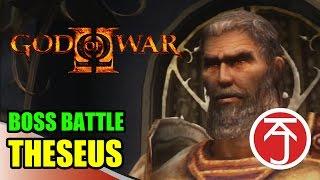 God Of War II - BOSS BATTLE: KRATOS VS THESEUS