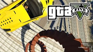 GTA 5 - CRAZY SPIRAL RACE - E28 | (Grand Theft Auto 5 Online Gameplay PC) Pungence
