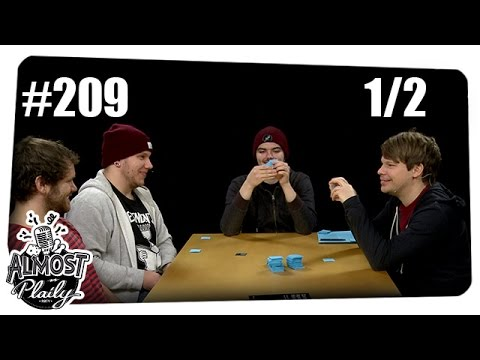 [1/2] Almost Plaily #209   Cards Against Humanity mit Gunnar, Colin, Alwin und Dennis   10.11.2015