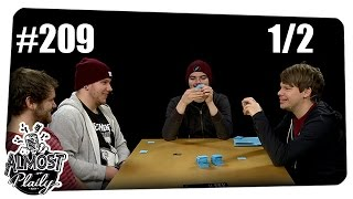 [1/2] Almost Plaily #209 | Cards Against Humanity mit Gunnar, Colin, Alwin und Dennis | 10.11.2015