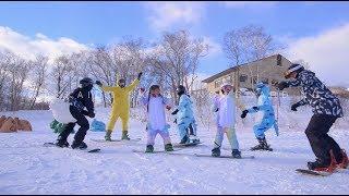 北海道二世谷滑雪親子家庭攝影/小巴老師攝影