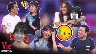 Tổng hợp 10 tình huống Trường Giang troll Hari Won muốn độn thổ trên sóng truyền hình