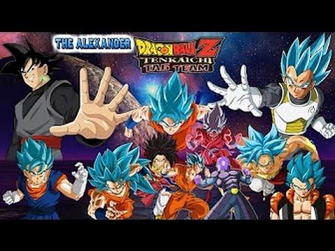 ⬇Descarga Dragon Ball z Tenkaichi Tag Team MOD ISO ppsspp Goku Black