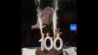 La doyenne mondiale des championnes olympiques fête ses 100 …